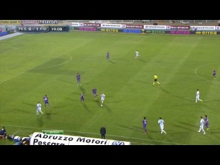 Чемпионат Италии 2012-13 / 38-й тур / Пескара — Фиорентина / 1 тайм