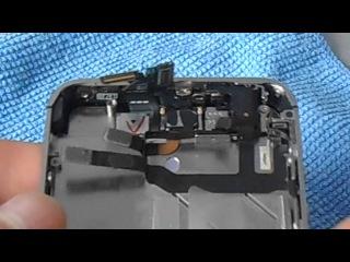 iPhone 4s замена дисплейного модуля (тачскрин дисплей).