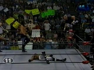 WCW NITRO 02.08.1999 (480p) - Титаны Рестлинга на канале ТНТ / Николай Фоменко