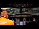 Установка самолета A 320 в геит 11 аэропорта Шереметьево. Video by Timur Solomnishvili