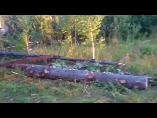 Погрузка леса по-русски