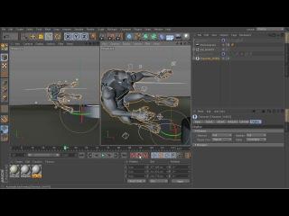 Методы полировки анимации в Cinema 4D. Урок 2