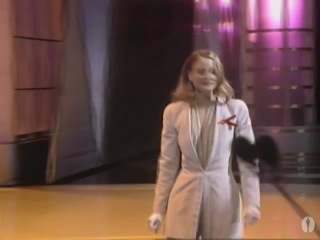 Jodie Foster winning an Oscar® for Silence of the Lambs