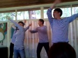 Пед.коллектив, танец Морячка