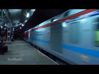 Rajdhani express Bangalore, India