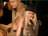 Christina Aguilera feat. Ricky Martin - Nobody Wants To Be Lonely (TOTP 2001)