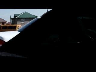 Неудавшийся дрифт в кортеже белых Приор в Дагестане, прикол, авария, дтп