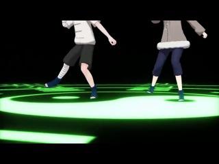 [Naruto +] 【MMD】Hinata Neji日向にリモコン踊ってもらった【NARUTO】