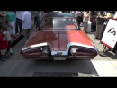 Jay Leno leaving the Rodeo Drive Concours d'Elegance in his Chrysler Turbine Car