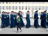 Военная академия РХБЗ Выпуск 2013 Проход по плацу