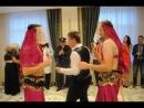 Танец жениха вместе с восточными красавицами