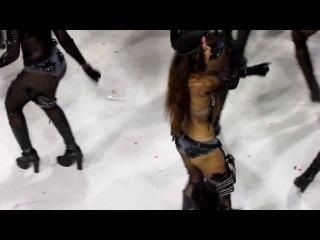 Танцоры карнавала в Рио де Жанейро ( Бразилия).