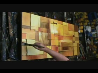 как писать абстракцию-Abstract Art painting 'Alter the Truth' Modern, contemporary, Mix Lang How to demo