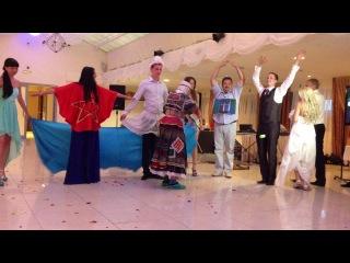 Мадам Яга на нашей свадьбе)