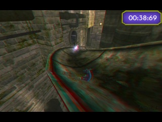 Слалом в игре Рататуй 3D - Анаглиф