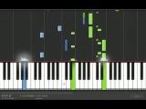 Игра на пианино Колыбельная для Беллы  (Сумерки_2)