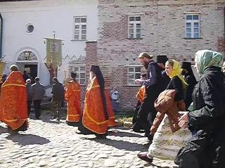 Соловки. Крестный ход в Соловецком монастыре на Праздник отдания Пасхи, 2013, часть 6