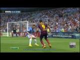 Малага - Барселона 0:1. Примера 2-й тур.