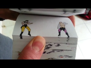 Mortal Kombat Flipbook By Etoilec1 (Jax vs Shang Tsung)
