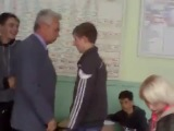 Бахчисарайский строительный лицей, драка учителя с учеником