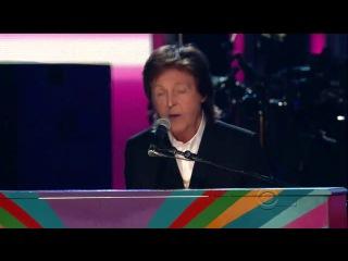 Paul McCartney and Ringo Starr – Queenie Eye (2014 Grammy Awards )
