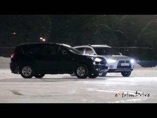 Как же красиво !!! Авто - Фигурное Катание. Танец машин и фигуристов на льду.