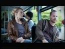 Парень и девушка в автобусе