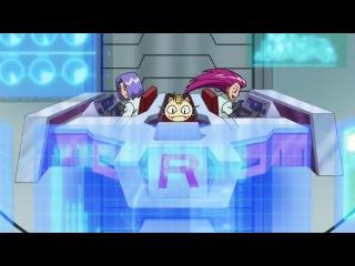Покемоны 13 сезон 9 серия (Улетающая башня Санишор)