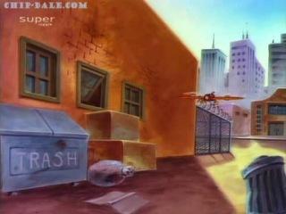 Мультфильм «Чип и Дейл: Спешат на помощь» - 63 серия («Чернослив и день рождения / Rest Home Rangers»)