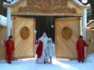 Дед Мороз и Снегурочка в передаче «Универсальный формат»