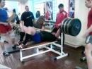 Селезень Сергей жим лежа 310 кг. с доски 17 мм 25.02.2013 г.