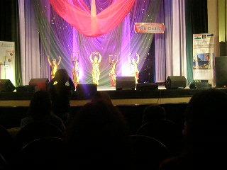 Коллектив индийского танца Апсара.