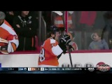 Claude Giroux scores his first goal of 2013-2014 NHL Season