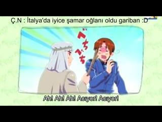 [KiraKira] Hetalia Axis Powers 27.Bölüm Türkçe Altyazılı