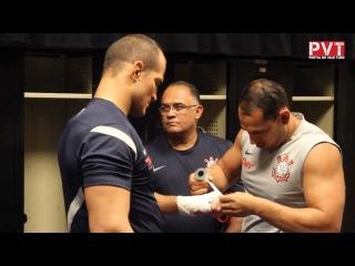 Джуниор Дос Сантос готовится к бою с Веласкесом на UFC 155