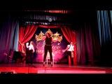 Выступление танцевального коллектива
