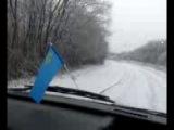 Зимний подъём на Караби яйла