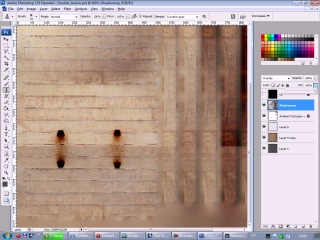 Meshes для Second Life в 3ds Max - 08 - Создаём текстуру для баклера (HD)