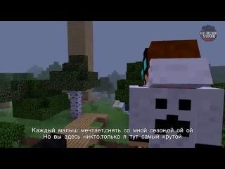 Bender vs Lololoshka 2.Epichnaya Rep Bitva v Majnkrafte 2 sezon!.360