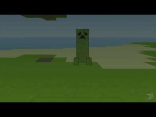 Прикол по миникрафту (MineCraft)