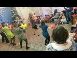 Новогодний танец родителей и воспитателей ГБОУ лицей № 1564 группа № 8 Митино