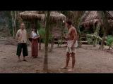 Kickboxer Жан-Клод Ван Дамм против пальмы