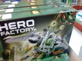 HeroFactoyi COMBO (X2 EVO TX4) VS Jet Rocka and LEGO SW™ - AT-RT™.