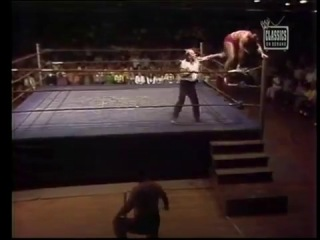 WWWF 1972 - Mr. Fuji vs. Pedro Morales