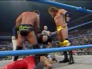 WCW NITRO 13.11.2000 - Титаны Рестлинга на канале ТНТ / Николай Фоменко
