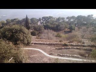 Вид с горы Фавор со смотровой площадки.