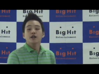 [BANGTAN] Big Hit audition (candidate 2-minyungi) | SUGA of Bulletproof Boy Scouts