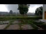 Торнадо в Марий Эл,неподалеку от п.Солнечный 2013 года.