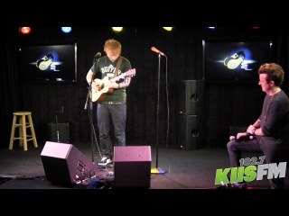 102.7 KIIS-FM: Ed Sheeran Loop Pedal Tutorial with JoJo