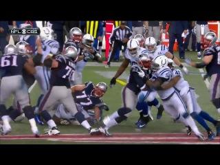 Американский футбол, NFL 2013-2014, AFC Divisional Playoff, 11.01.2014, Indianapolis Colts - New England Patriots, 1 половина, RU (36th studuo) С. Морозов и В.Пастухов